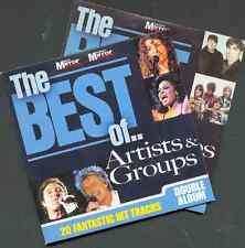 BEST OF ARTISTS & GROUPS - PROMO 2 CD SET: TOM JONES, PETULA CLARK, BILLY OCEAN