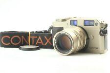 【NEAR MINT 】 CONTAX G1 Rangefinder 35mm Film Camera + 90mm f/2.8 From Japan