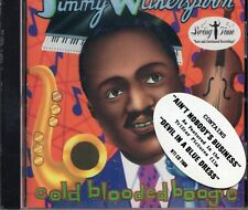 Jimmy Witherspoon - Cold Blooded Boogie (1995 CD) New & Sealed