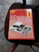 Fiat 127 1971-1979 Haynes Owners Workshop Manual