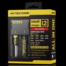 NITECORE i2 Battery Charger Li-ion Intellicharger For AA 18650 16340 18350 26650