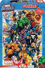 EDUCA JIGSAW PUZZLE MARVEL HEROES 500 PCS COMICS #15560