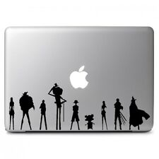 One Piece Team Vinyl Sticker Decal for Macbook Laptop Car Window Wall Art Decor