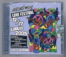 AREZZO WAVE LOVE FESTIVAL 12/17 LUGLIO  2005 - 2 CD F.C. SIGILLATO!!!