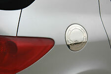 CHROME FUEL DOOR / FLAP / PETROL CAP COVER TRIM STAINLESS STEEL FOR PEUGEOT 307