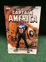 The Death of Captain America Vol 3. 2008 Marvel TPB. Ed Brubaker.