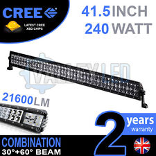 40 INCH 120W CREE LED LIGHT BAR DEFENDER NEVARA JEEP L200 HILUX DISCOVERY DMAX