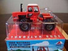Ertl Toy Farmer show vintage allis chalmers 7580 Tractor 1/64 model 29710P 2008