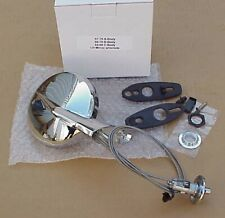 1965-76 Plymouth Dodge Chrysler Left Hand Driver Side New REMOTE MIRROR