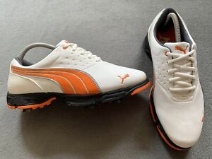 Brand New Genuine Authentic White Puma BioFusion Golf Shoes Size UK 7 Cost £140
