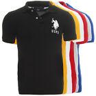 US POLO ASSN. Herren Polo Shirt 11625088 Kurzarm Polohemd T-Shirt Baumwolle