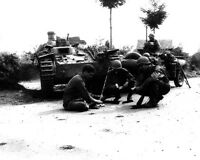 US Soldiers in Normandy after the D-Day Invasion 8x10 World War II WW2 Photo 595