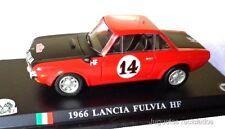 1/43 LANCIA FULVIA HF 1966 UNIVERSAL HOBBIES DEL PRADO DIECAST miniatura metal