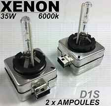 2 x D1S 35w 6000k WHITE XENON BULBS LAMPS FRONT LIGHTS MERCEDES W204 CLASSE C