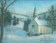 Lang Christmas Cards, Box Of 21, Country Cheer By Sam Timm (121)