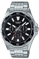 Casio Watch MTD-300D  MTD-300D-1AV Stainless Steel Back 50m Men's Watches MTD300