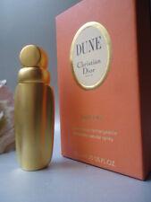 DIOR DUNE Parfum 7.5ml Golden Flask Vintage 1997 New Not Sealed Near Mint Box