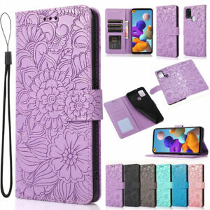 Magnetic Leather Wallet Case Flip Cover For Samsung A12 A51 A21S A50 A52 A72 5G