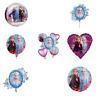 Disney's Frozen 2 Anna nd Elsa Foil Balloon Party Decorations Various Designs