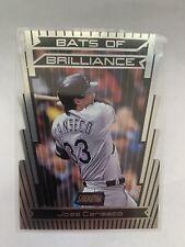 2000 Stadium Club Bats Of Brilliance Die Cut Jose Canseco Devil Rays
