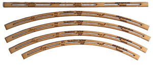 Track Laying Templates OO/HO 16.5mm gauge to match HORNBY/BACHMANN/PECO setrack