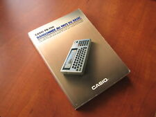 USED Casio BP-700 LCD pocket computer Randonnee au pays du Basic book [2155]