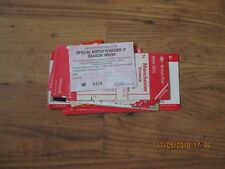BATCH OF BARNSLEY TRAVEL TICKETS & VOUCHERS FROM 1990s & 2000s