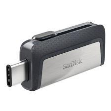 SanDisk 64GB Dual Type C USB Flash Drive 150MB/s Memory Stick Pen Thumb New UK