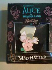 Disney Rare MIB Alice in Wonderland Fiftieth Year Mad Hatter LE 5000 Pin