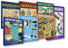 BUY ALL 7 DETECTOR FINDS BOOKS FOR £83.50, SAVING £25! (UK P&P FREE)