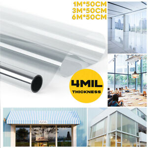 4Mil Transparent Explosion-proof Window Sticker Static Protect Glass Film