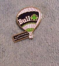 BULL OUTDISTANCING THE COMPETITON BALLOON PIN