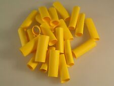 Printasleeve CWA417 Heat Shrink Sleeves 6.4mm x 22mm Yellow 50 Pieces OM0894b