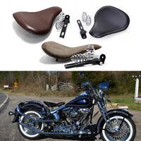 Motorcycle Solo Seat Spring Bracket Kit For Harley Heritage Springer Softail CVO
