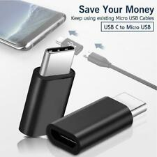 Micro USB Female to USB TypeC Male Converter USB-C Data Cable OTG Adapter