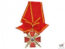 Cross / Order of Saint Anna badge 3 Class Cross with swords Russian Imperial Wwi