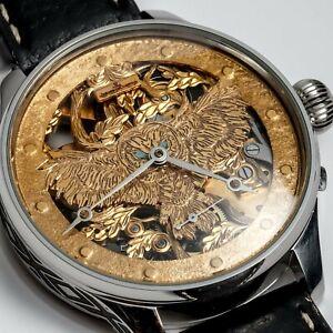 Jaeger-LeCoultre Skeleton Men's Wristwatch Swiss movement