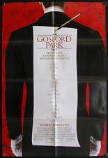 Gosford Park (2001) US One Sheet MAGGIE SMITH