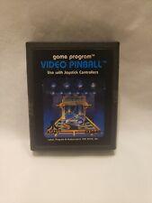 Video Pinball Atari 2600 Game Cartridge