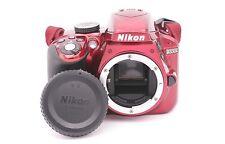 Nikon D D3300 24.2mp caméra SLR numérique - Rouge (BOITIER UNIQUEMENT) -