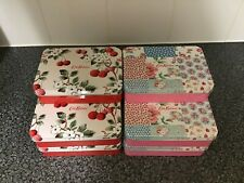 Cath Kidston Hand & Lip Set Tin Job Lot Bundle x10 - brand new