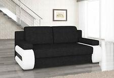 Couch Couchgarnitur Sofa Polstergarnitur LA 12 mit Schlaffunktion Jugendsofa