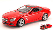 Mercedes Sl500 2012 Red 1:24 Model 0297 WELLY