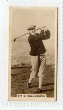 More details for (gw466-444) millhoff, famous golfers, #3 sir e.holderness 1928 ex