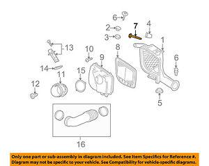 Cadillac GM OEM 07-10 STS 4.6L-V8 Air Cleaner Intake-Housing Bolt 11562510