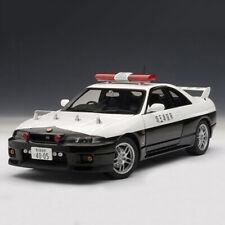 AUTOart 1/18 Nissan Skyline GT-R R33 Police Divison GTR Diecast Model Car New