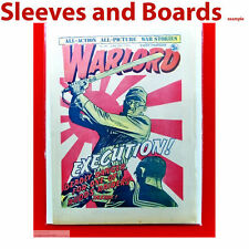 Warlord Comic Bags and Boards Acid Free Reseal/Tape Seal TALL Size4 A4+ x10 New