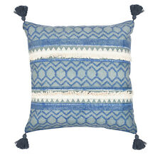 Unique Embroidered Throw Cushion Cover Cotton Sofa Kilim Pillow Case 18x18