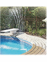 Aqua Select Above Ground Wonder Pool Swimming Pool Fountain For Steel Wall Pool