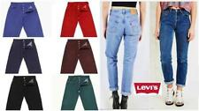 Levi's Denim Stonewashed Jeans for Women